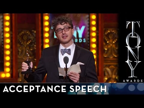2014 Tony Awards: Acceptance Speech - Beowulf Boritt