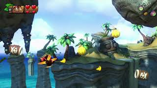 Donkey Kong Tropical Freeze 4e island 4-5 Sea Stack Attack part 27