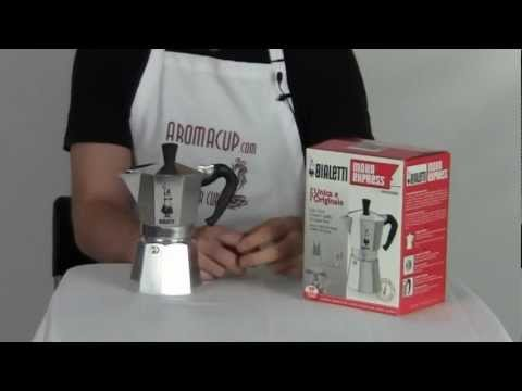 Coffee Maker Demonstrations : Bialetti Moka Express Review And Demonstration How To Save Money And Do It Yourself!