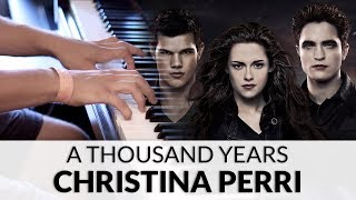 (5.96 MB) Christina Perri - A Thousand Years (The Twilight Saga: Breaking Dawn Soundtrack) | Piano Cover Mp3