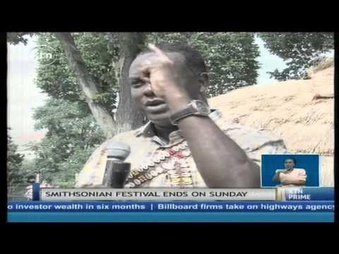 Display of Kenyan cultures in US and in Western Kenya