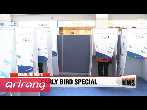 EARLY EDITION 18:00 Early voting for Korea's general elections kicks off