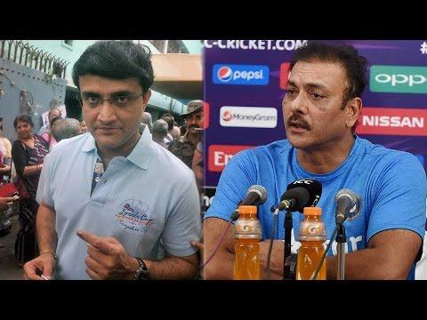 Ravi Shastri upset with Sourav Ganguly, Know why