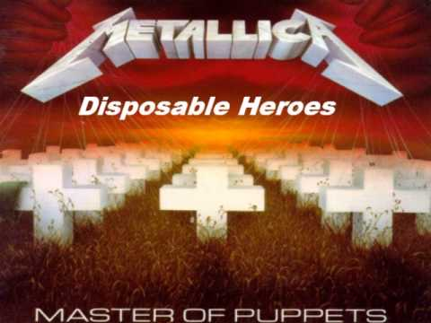 Metallica-Master of Puppets-[Full Album]