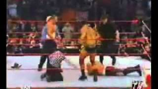 WWE Monday Night Raw - Batista vs Scott Steiner (HQ)