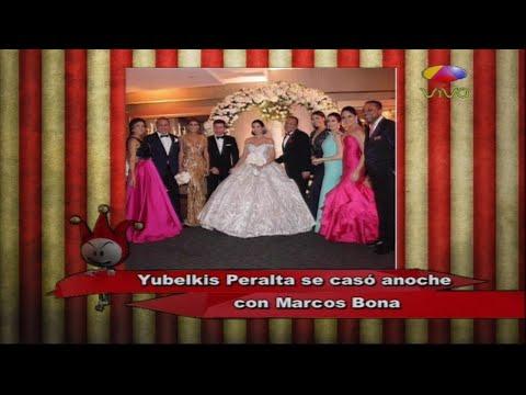 Todo sobre la boda de Yubelkis Peralta desde la carpa cirquera