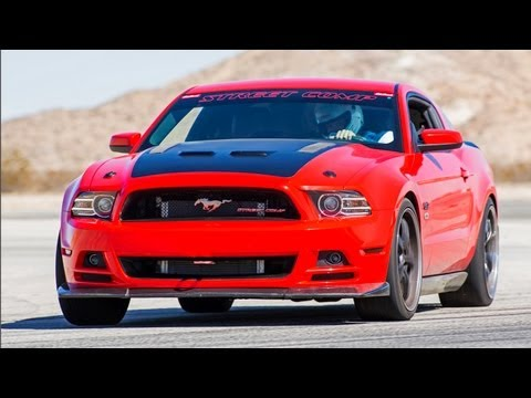 Racing a Supercharged 2013 Ford Mustang GT at Run the Coast! HOT ROD Unlimited Episode 28