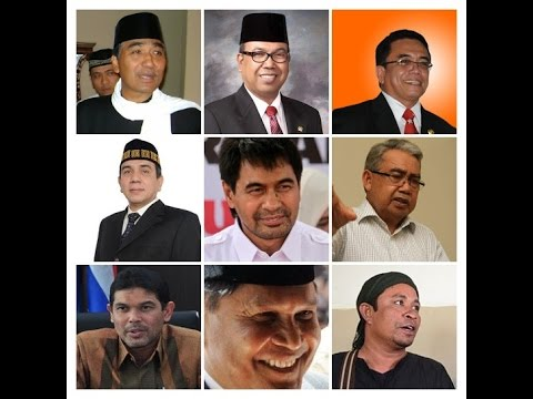 The best Candidates for Governor of Aceh Province in 2017-2022