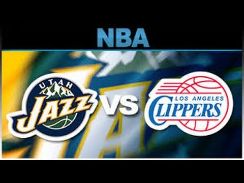 NBA 2K16: My League, Clippers @ Jazz Part 1