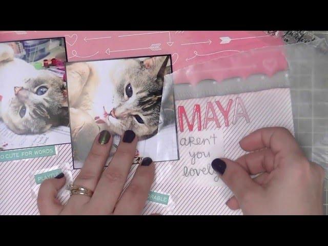 Scrapbooking Process: Maya