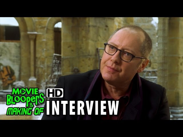 Avengers: Age of Ultron (2015) BTS Movie Interview - James Spader (Ultron)