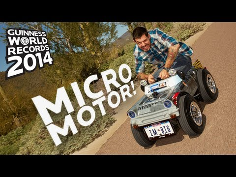 Smallest Car In The World -- Guinness World Records 2014