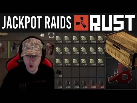 Rust INSANE LOOT Rust Raids PvP
