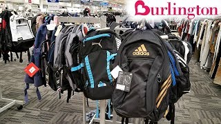 BACK TO SCHOOL SHOPPING BURLINGTON BACKPACKS NAME BAND WALK THROUGH JULY 2018