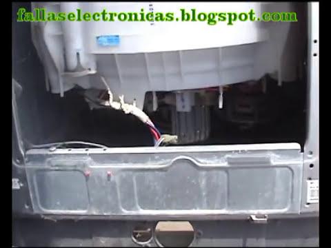 Lavadora LG No Centrifuga, Cambio de bomba Parte 1 (fallaselectronicas.com)