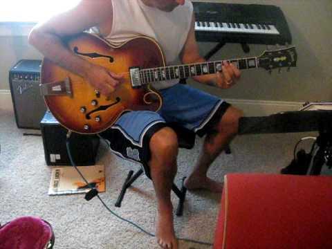 Bebop Blues guitar on a '63 Gibson Tal Farlow guitar
