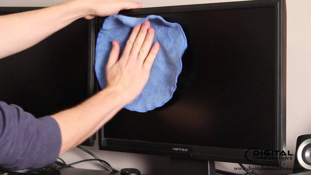 How To Clean A Computer Monitor Screen Youtube