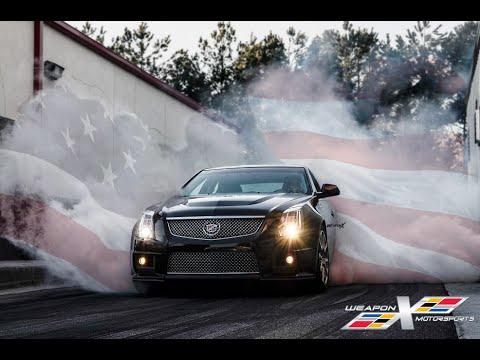 Cadillac Cts V Burnout Compilation  Youtube