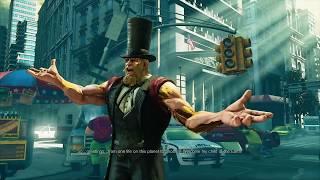 Street Fighter v Arcade  G story