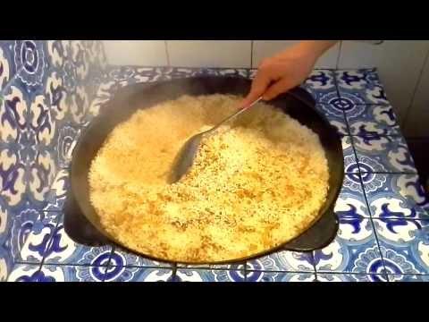 Как готовить узбекский плов - видео