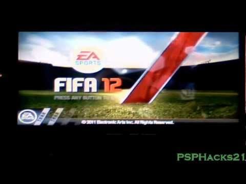 FIFA 12 PSP iso/cso Download