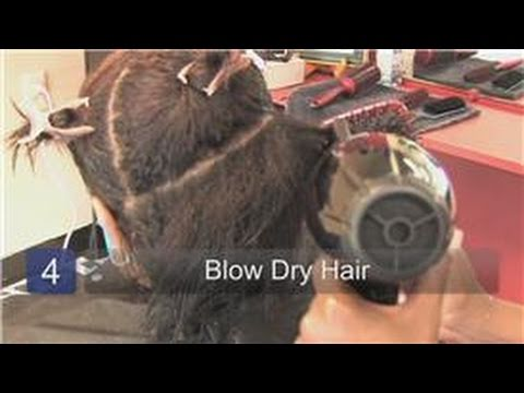Ethnic Hair Care Tips : How to Blow Dry Black Women's Hair Properly