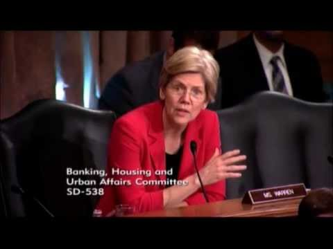 Senator Elizabeth Warren Grills Investigators Over Illegal Foreclosures FULL SEGMENT