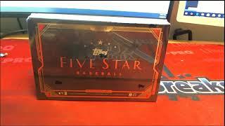 2018 Topps Five Star Baseball Hobby Box ID 18TOPPFIVESTBBPYT325