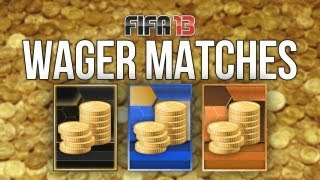 FIFA 13 WAGER MATCHES 25K With Facecam & Live Reactions Episode 1 Ultimate Team