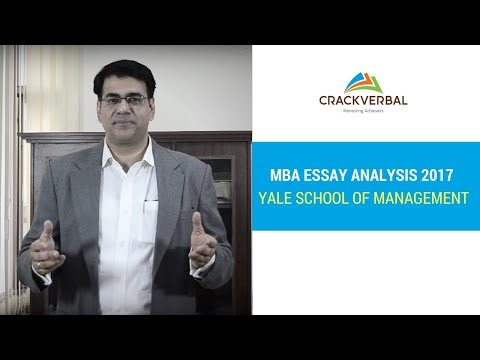 yale mba essay 16 Yale SOM facts every international MBA applicant should know