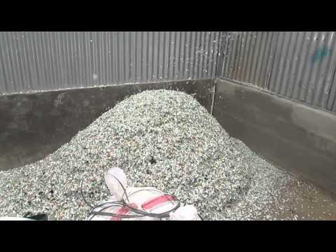 Mesin pengolahan limbah plastik , mesin cacah plastik , mesin