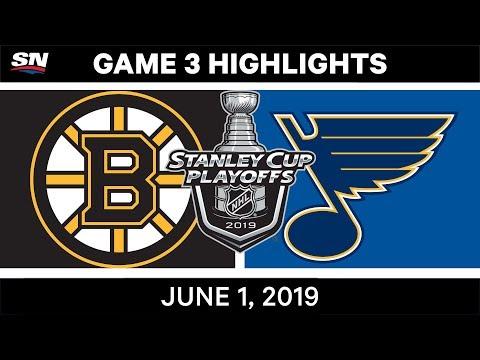 NHL Highlights | Bruins Vs. Blues, Game 3 – June 1, 2019