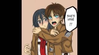 Eren X Mikasa Anime Couples/Ships