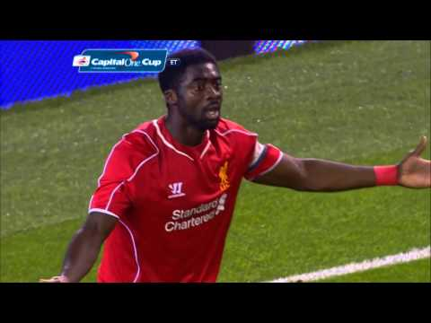 Video: Goals from Liverpool v Boro in the Capital One Cup