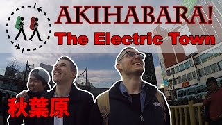 Japan: Akihabara - The Electric Town, Cemeteries, and Prison Izakaya! | Day 1