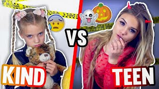 KIND vs TEENAGER an HALLOWEEN 🎃👻