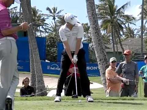 Jordan Spieth front view driver from 2014 Sony Open