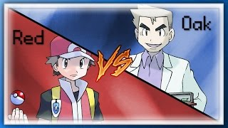 Pokemon: Red VS Professor Oak!