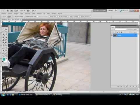 Herramienta Parche con Photoshop Paso a Paso
