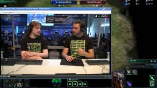 IEM Gamescom Day 3 Group D: SuperNova vs HasuObs Game 1 - [Starcraft II]