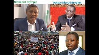 Togo: Un membre de la Coalition des 14 dépièce le ministron Nicoué Broohm du RPT-UNIR