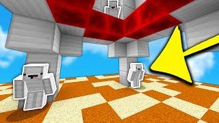FAKE IRON BLOCK TROLLING! (Minecraft SKYWARS Troll)