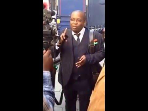 Deputy Director of Radio Biafra Uche Mfor Addresses Media
