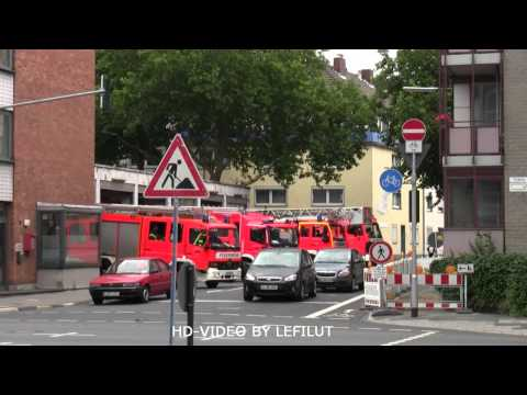 Erweiterter Löschzug Berufsfeuerwehr Köln FW 1