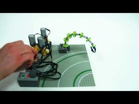 Lego Technic Motorized Tentacle