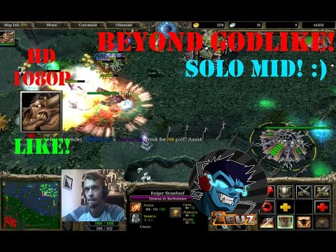 ★DoTa Earthshaker - GamePlay | Guide★ Beyond Godlike! Solo MId #2. 6000+PTS!★