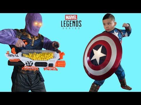 STRONGEST Avengers Captain America Marvel Legends Series Shield CKN Toys