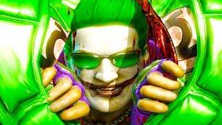 Mortal Kombat XL - All Fatalities & X-Rays on Green Lantern Deadpool Cassie Costume Mod Gameplay
