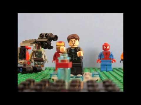 Lego Iron man 3 Mark 42 suit up