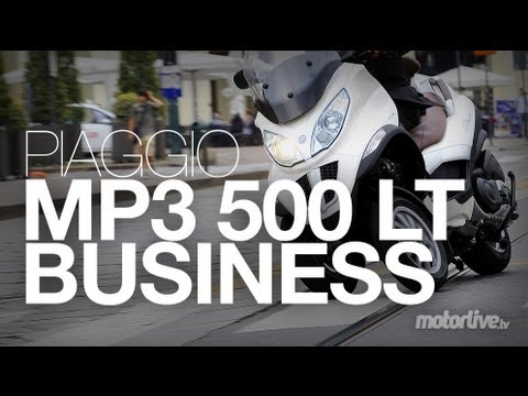 Essai Piaggio MP3 500 LT Business